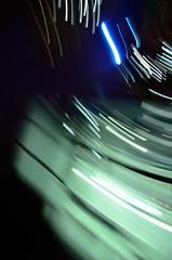 DISCO : 2013 (damonabnormal) Tags: street city november urban motion blur philadelphia lights nikon pa motionblur philly panning phl rotate urbanphotography urbanite 2013 d7000