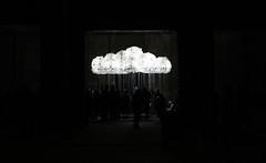 Cloudy weather (Evelien Gerrits) Tags: light cloud art licht glow kunst eindhoven lightinstallation olk glow2013 incandescentcloud nreterrein