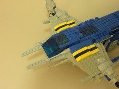 Classic Space Cargo Carrier (07) (origamiguy1971) Tags: classic ship lego space spaceship neoclassic moc esseltine origamiguy origamiguy1971