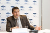 """Jacopo Moccia at the press conference where EWEA launched a new report, """"Where's the money coming from? Financing offshore wind farms""""   <a style=""""font-size:0.8em;"""" href=""""http://www.flickr.com/photos/38174696@N07/10962783724/sizes/o/"""" target=""""_blank"""" class=""""download"""">Download high-res</a>"""