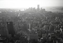 NYC horizontal 7 (misterworthington) Tags: nyc newyorkcity blackandwhite panorama usa newyork america skyscraper grid unitedstates harlem broadway 360 bowery hudsonriver empirestatebuilding manhatten hoboken 360degrees williamsberg worldtracecentre