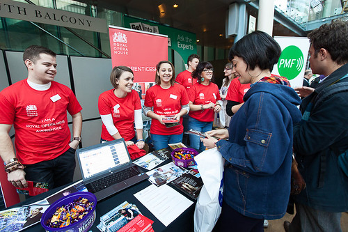 TheatreCraft 2013 careers fair attracts over 1,000 young people from across the UK
