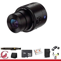 camera black sony 4 smartphone package qx100 attachable... (Photo: karabaaa17 on Flickr)