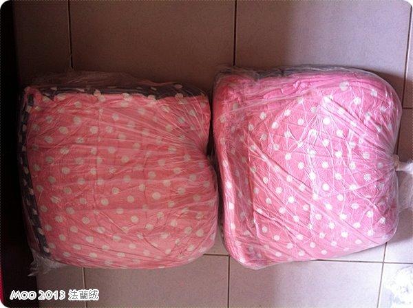 銀灰VS粉紅床包組+毛毯