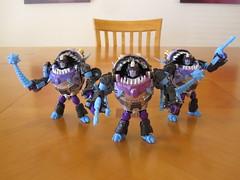 Sharkticons - Robot modes (Floating Cat) Tags: transformers classics generations universe decepticons
