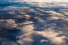 Cloudscape Viewed from Above During Flight over Great Plains (Lee Rentz) Tags: above winter sky usa cloud clouds america plane airplane landscape view aviation flight aerial blanket northamerica thick cloudscape airliner viewed cloudbank