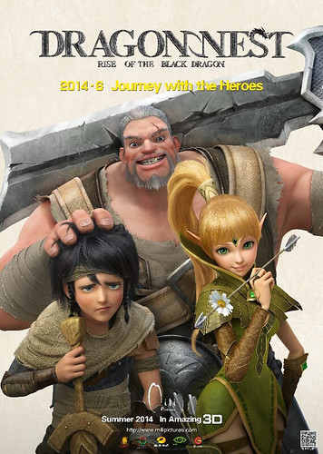 DRAGON NEST RISE OF THE BLACK DRAGON poster