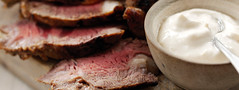 Roast Beef with Sauce Teriaki (greece_fage) Tags: flair gouda edam        syntages sintages suntages       regato