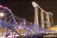 Helix Bridge (jphernandez_rmt) Tags: bridge marina bay singapore helix sands canon6d