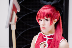 Kyoko Sakura by Mango Sirene Katsucon 2014 Madoka Magica Cosplay (WhiteDesertSun) Tags: red cosplay thing mango convention con plz nona sirene katsucon 2014 stabby meduka meguca