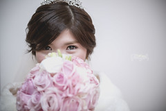 Pure eyes (Da Kuma) Tags: wedding light white flower eye love nikon dress taiwan taipei lover pure kuma d800 taiwancountry nikond800