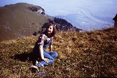 SWITZERLAND 1979 pic169 (streamer020nl) Tags: schweiz switzerland slide dia scan louise oops helvetia 1979 ch ooops zwitserland oooops appenzellerland hohekasten ooooops