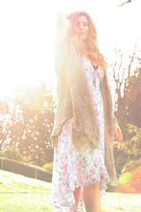 Spring Awakening. (hayliemaxine photography) Tags: sun sunlight floral fashion spring editorial sunflare freepeople
