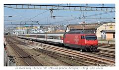 Re 460 034-2 - Renens (CC72080) Tags: train sbb locomotive renens cff re460 interrégio