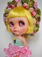 Spring has Sprung (Gumidoll) Tags: flower spring lemon doll fairy blythe custom