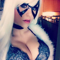 #BlackCat #cosplay (Screen Team) Tags: square nashville squareformat iphoneography instagramapp uploaded:by=instagram