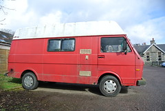 Tired old Dub (BurnThePlans) Tags: old classic vw volkswagen rust rusty weathered van camper lt campervan lt35