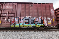 (o texano) Tags: houston texas graffiti trains freights bench benching wyse weez defthreats dts d30 a2m adikts