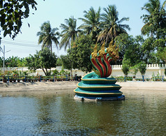 Wat Muang Temple Thailand (alangregory1) Tags: snake serpent sculpture scales thai temple statue pond fabulous concret phaya naga thailand gold religion oriental buddhism asian asia wat spirituality ancient golden art angthong siam muang travel orient province
