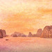 Halong Bay with Texture Screen, Tints, Manipulation, Impression     the whole works!