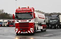 Scania R450 6x2 Dowse Tank Transport FX16KCG Frank Hilton IMG_5152 (Frank Hilton.) Tags: classic truck lorry eight wheel maudsley aec atkinson albion leyalnd bristol austin outside heavy haulage crane 8 axle