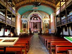 (MAGGY L) Tags: églises paysbasque artreligieux baroque bancs pews architecture galeries