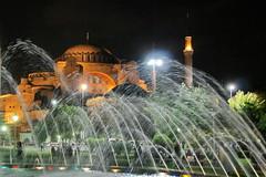 Hagia Sophia (DirkVandeVelde on and off) Tags: europa istanbul istanboel turkey turkije hagiasofia sony