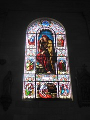 Elijah (Granpic) Tags: france lotetgaronne nérac church eglise stnicholasnérac stainedglass window vitrail vidreriadecolores 19thcenturyglass josephvilliet oldtestament biblestory elijah aquitaine