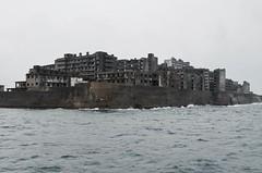 Battleship island-Nagasaki (shiori_s) Tags: nagasaki hashima island battleship abandoned world heritage coal mining sea 1974 closed desert japan trip travel scary spooky 軍艦島