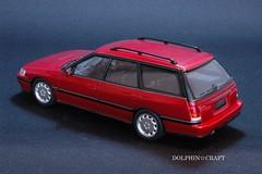 SUBARU LEGACY 6 (DOLPHIN☆CRAFT) Tags: subaru legacy wagon turbo gt スバル レガシィ ワゴン ターボ gt プラモデル