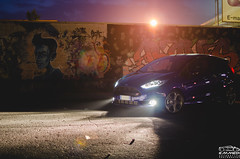 Ford Fiesta ST (EmmeDiPhotography) Tags: ford fiesta st night murales graffiti lights street tuners emmedi automotive photography 2017