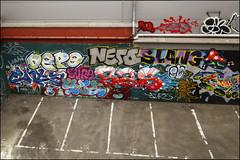 Various... (Alex Ellison) Tags: 4ce force enta sure slang jpt bas depo westlondon trackside urban graffiti graff boobs nerd wg cos cosa ac allcity throwup throwie