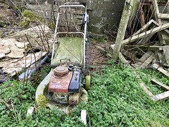 Honda HR216 Petrol Mower Defeated & Abandoned (Dano-Photography) Tags: neglect scotland environment pollution saveearth recycle hr216 gardening garden grasscutter hondamower mower petrol honda isolated deceit dump garbage field spring winter summer autumn weathered ditched dumped crying cry dead decaying decay fossil aged alone unloved ancient old crusty rusty forgotten neglected abandoned 2017 dano aberdeenscotland