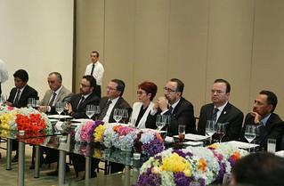 Me reuní con integrantes del Consejo Coordinador Empresarial, con el alcalde Luis Banck y con mi gabinete para atender y escuchar a éste sector.