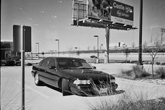 Charles's dream car (jeremymathews) Tags: olympusxa kodaktrix kodaktrixandrodinal rodinal blackandwhitefilm standdevelopment documentaryphotography