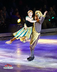 Princess Anna of Arendelle & Baker (DDB Photography) Tags: disney disneyonice ice waltdisney disneyphoto disneypictures disneycharacters followyourheart mickey mickeymouse minnie minniemouse mouse feldentertainment donaldduck duck goofy figure skate figureskate show iceshow prince princess princesses castle animation disneymovie movie animatedmovie fairytale story anna elsa elsathesnowqueen olaf kristoff sven hans princehans arendelle frozen loveisanopendoor letitgo