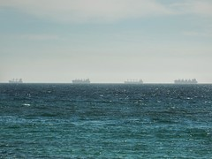 Ride at anchor (sander_sloots) Tags: ships fremantle perth cottesloe indian ocean waiting voor anker schepen haven wachten harbour