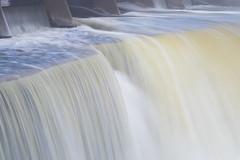 Rideau Falls (christopherdeacon) Tags: morning outdoors river waterfall winter ottawa water