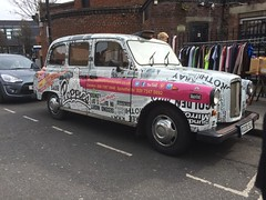 Poppies taxi in Camden (Ian Press Photography) Tags: poppies fish chips chip camden london taxi taxis cab cabs cabbie lti