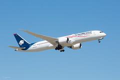 Boeing 787 (abellorinm) Tags: avion boeing 787 boeing787 dreamliner spotting aeromexico