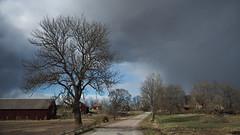 The Old Rural Road (jurgenkubel) Tags: landsväg road strasse by village dorf landscape landskap landschaft