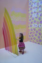 Museum Of Ice Cream - Los Angeles 2017 (evaxebra) Tags: museum ice cream icecream moic museumoficecream art pink installation losangeles la downtown 7th luna minnie mouse dress rainbow