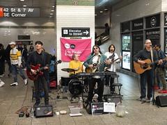 Subway Music, Times Square (52er Bild) Tags: timessquare nyc newyork subway music street urban people