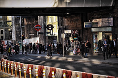 London Streets (☺dannicamra☺) Tags: nikon d5100 england london streets city people urban strase stadt menschen underground