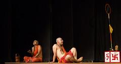Faith n its different ways (durgeshnandini) Tags: sadhu men saffron udaipur india faith belief ways expressions contrast