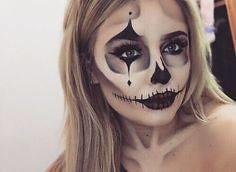 Skull | Skeleton Halloween Makeup , #makeup , FB: http://ift.tt/2q4FmAh (ineedhalloweenideas) Tags: skull | skeleton halloween makeup costume happy h