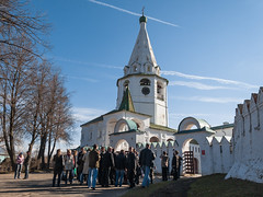 Suzdal Kremlin (Oleg.A) Tags: spring cathedral villiage russia church suzdal orthodox outdoor architecture cross rural evening dome monastery catedral convent outdoors