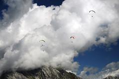 freedom (Bernat Beata) Tags: flying paragliding clouds sky beatabernatde landscape bassano mountains