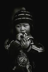 Vietnam (♫♪♭Enricodot ♫♪♭ an apple a day....) Tags: enricodot vietnam viaggio travel traveler children child childhood bn bw blackandwhite bianconero blackwhite portrait portraits people persone
