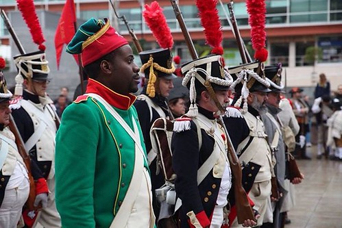 """II Jornadas Napoleónicas organizadas por la Concejalía de Juventud e Infancia y la Asociación  Histórico – Cultural """"Voluntarios de Madrid 1808-1814"""" , en la que, a través de distintas actividades, han devuelto a la ciudad a principios del siglo XIX. Se h"""